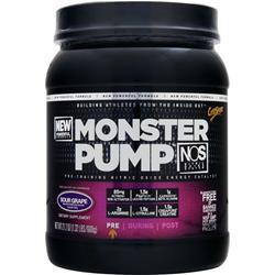 CYTOSPORT Monster Pump NOS Sour Grape 21.2 oz
