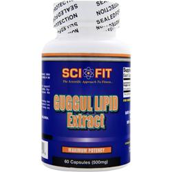 SCI-FIT Guggul Lipid Extract 60 caps