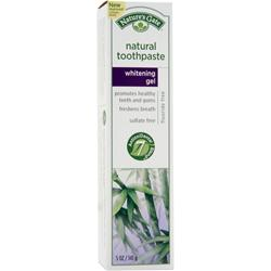 NATURE'S GATE Natural Toothpaste Whitening Gel 5 oz