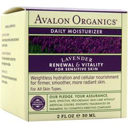 AVALON ORGANICS Daily Moisturizer Lavender 2 fl.oz
