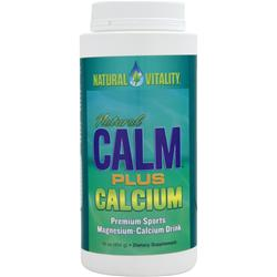 NATURAL VITALITY Natural Calm Plus Calcium 16 oz