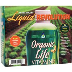 Natural Vitality Liquid Revolution - Organic Life Vitamins 30 pckts