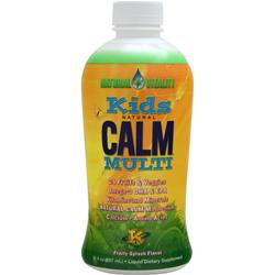 Natural Vitality Kids Natural Calm Multi Fruit Splash 30 fl.oz
