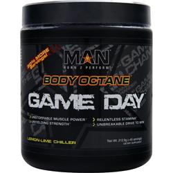 MAN SPORTS Body Octane - Game Day Lemon-Lime Chiller 212.9 grams