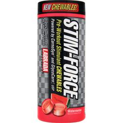 LABRADA Stim-Force Chewables Watermelon 45 tabs