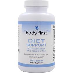 Body First Diet Support with Irvingia and Green Tea 240 caps