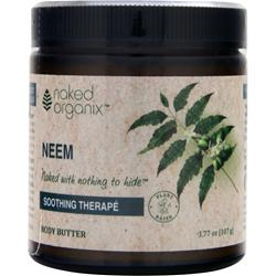 Naked Organix Body Butter Soothing Therape Neem 3.77 oz