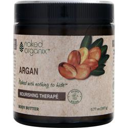 NAKED ORGANIX Body Butter Nourishing Therape Argan 3.77 oz