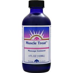HERITAGE PRODUCTS Muscle Treat Massage Liniment 4 fl.oz