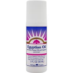 Heritage Products Egyptian Oil with Extra Peanut Oil and Capsicum 3 fl.oz