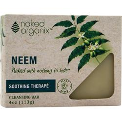 Naked Organix Cleansing Bar Soothing Therape 4 oz