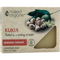 NAKED ORGANIX Cleansing Bar Renewing Therape 4 oz