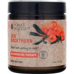 Naked Organix Body Butter Rejuvenating SeaBuckthorn 4 oz