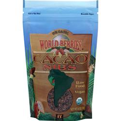FUNFRESH FOODS Organic World Berries - Cacao Nibs 6 oz