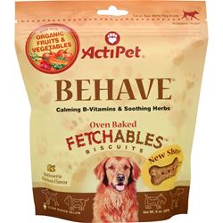 Actipet Behave Fetchable Biscuits 8 oz