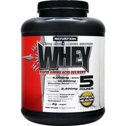 SCIVATION Whey Powder Vanilla Heaven 5 lbs