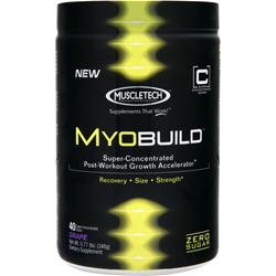 Muscletech MyoBuild Grape BEST BY 5/2/17 .77 lbs
