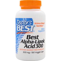 DOCTOR'S BEST Best Alpha-Lipoic Acid (300mg) 180 vcaps