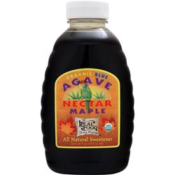 FUNFRESH FOODS The Real Food Trading Company - Organic Blue Agave Maple 16 fl.oz