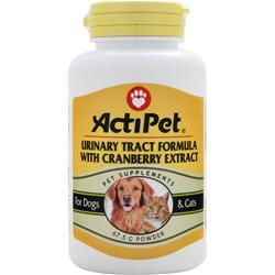 Actipet Urinary Tract Formula with Cranberry Extract 67.5 grams