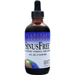 PLANETARY FORMULAS SinusFree (Liquid) Best by 11/14 4 fl.oz