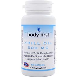 BODY FIRST Krill Oil (500mg) 60 sgels