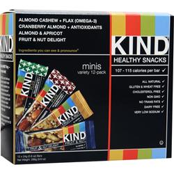 PEACEWORKS KIND Mini Bar Variety Pack 12 bars