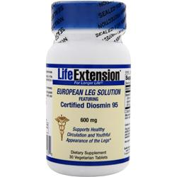 LIFE EXTENSION European Leg Solution - Certified Diosmin 95 (600mg) 30 tabs