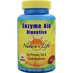NATURE'S LIFE Enzyme Aid Digestive 100 caps