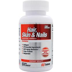 TOP SECRET NUTRITION Hair, Skin & Nails 60 cplts