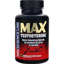 MD SCIENCE LABS MAX Testosterone 60 tabs