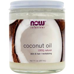 NOW Coconut Oil - 100% Natural 7 fl.oz