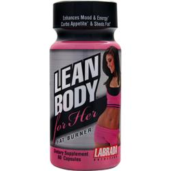 Labrada Lean Body for Her Fat Burner 60 caps