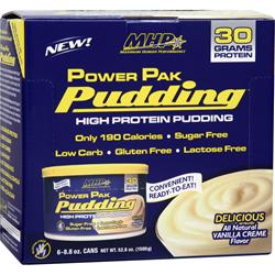MHP Power Pak Pudding Vanilla 6 cans