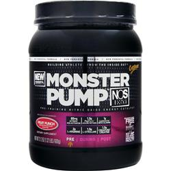 CYTOSPORT Monster Pump NOS Fruit Punch 21.2 oz