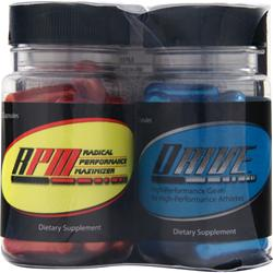 APPLIED NUTRICEUTICALS Drive and RPM Combo Pack 25+25 50 caps