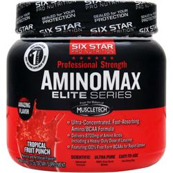 SIX STAR PRO NUTRITION Professional Strength AminoMax Elite Series Tropical Fruit Punch .6 lbs