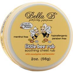 Bella B Little Bee Rub - Soothing Chest Rub 2 oz