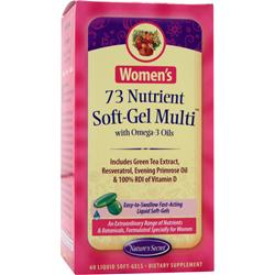 NATURE'S SECRET Women's 73 Nutrient Soft-Gel Multi 60 sgels