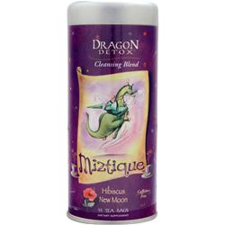 Funfresh Foods Dragon Detox Cleansing Blend Miztique Hibiscus New Moon 35 pckts