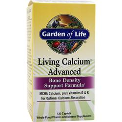GARDEN OF LIFE Living Calcium Advanced 120 caps
