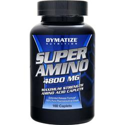DYMATIZE NUTRITION Super Amino (4800mg) 160 cplts