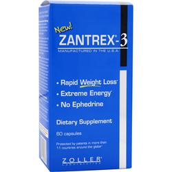 Zoller Laboratories Zantrex-3 with Oxydrene 60 caps