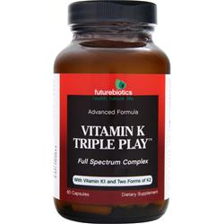 FUTUREBIOTICS Vitamin K Triple Play 60 caps