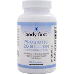 Body First Probiotic 20 Billion 120 caps