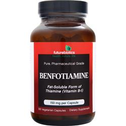 FUTUREBIOTICS Benfotiamine Best by 7/15 120 vcaps