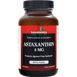 Futurebiotics Astaxanthin (4mg) 60 sgels