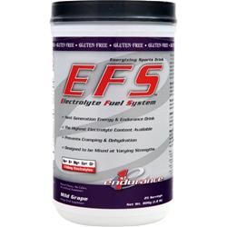 1ST ENDURANCE EFS - Electrolyte Fuel System Mild Grape 1.8 lbs