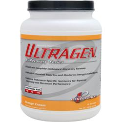 1ST ENDURANCE Ultragen RS-Recovery Series Orange Cream 3 lbs