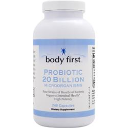 BODY FIRST Probiotic 20 Billion 240 caps